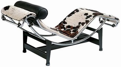 chaise longue lc4 cheval par le corbusier. Black Bedroom Furniture Sets. Home Design Ideas