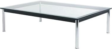 table basse lc10 par le corbusier. Black Bedroom Furniture Sets. Home Design Ideas