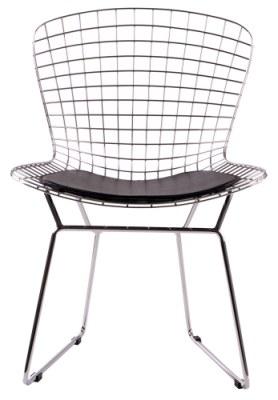 chaise fil de fer par harry bertoia. Black Bedroom Furniture Sets. Home Design Ideas