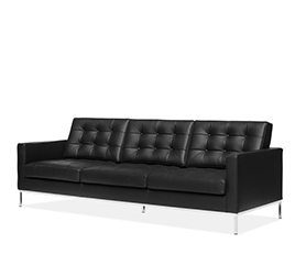 Sofa Knoll three seater - Florence Knoll