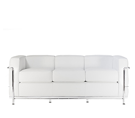 LC2 Three Seater Sofa by Le Corbusier