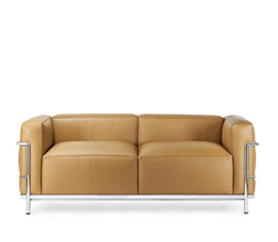 LC2 Armchair, LC2 Three Seater Sofa, Lounge Chair and ...