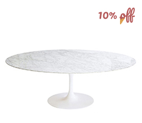 Oval Tulip Table Eero Saarinen