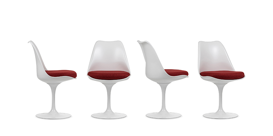 4 x Tulip chair - Eero Saarinen - 1956