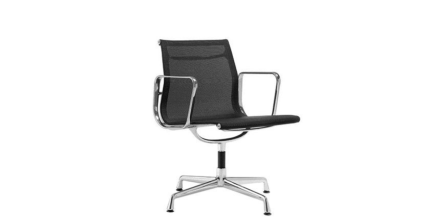 Stockware Sales: EA108 Aluminium Group Chair black - Charles Eames - 1956