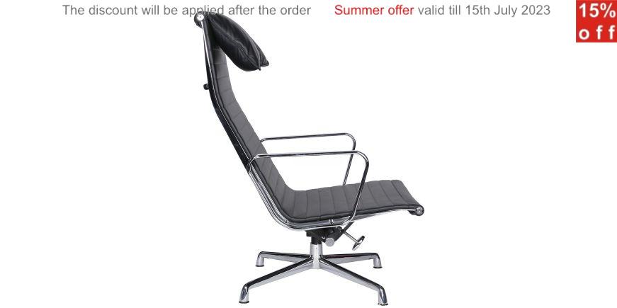 Ea 124 aluminium group chair charles eames for Alu chair nachbau