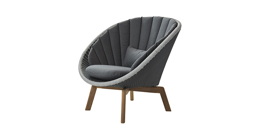 Sillón Peacock de Cane Line - Steeldomus Workshop - 2017