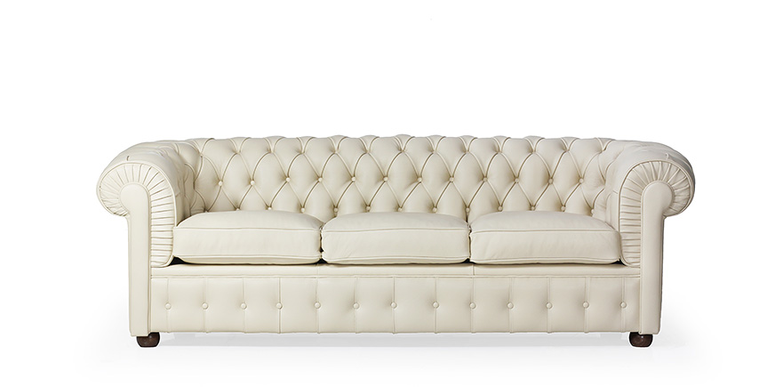 Chesterfield Dreisitzer Sofa - Chesterfield - 1912