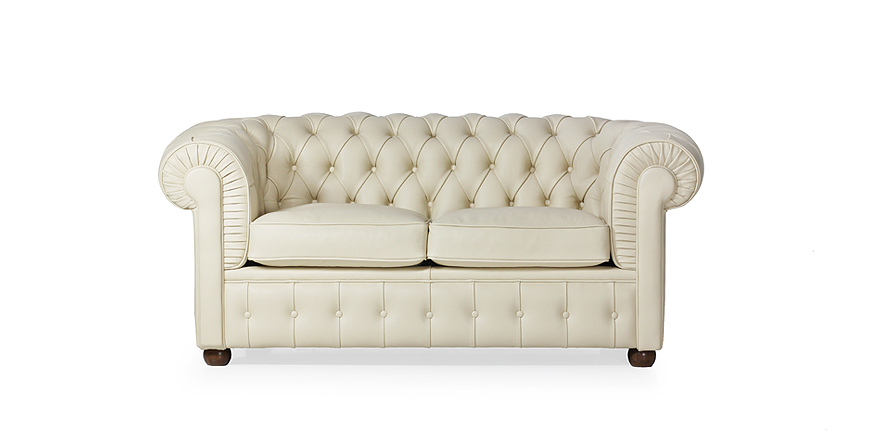 Chesterfield Two Seater Sofa - Chesterfield - 1912