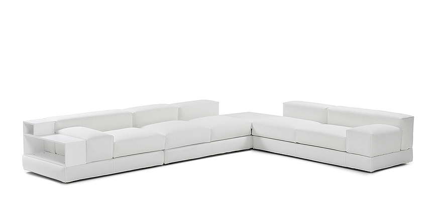 Design Corner Sofa Divano G101 - Steeldomus Workshop - 2014