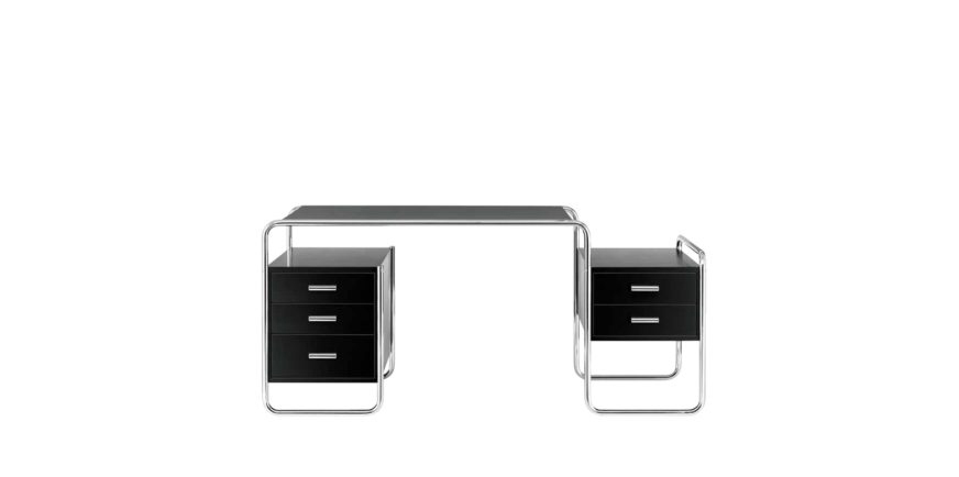schreibtisch s285 von marcel breuer. Black Bedroom Furniture Sets. Home Design Ideas