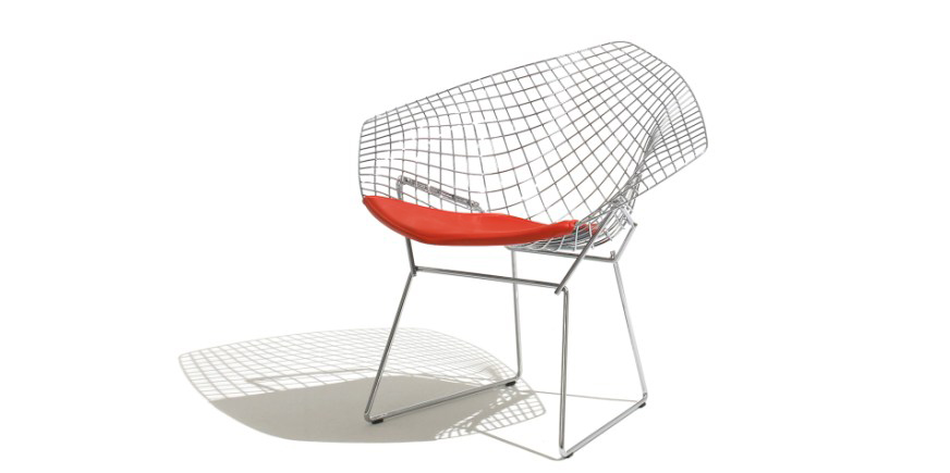 Silla Diamante - Harry Bertoia - 1952