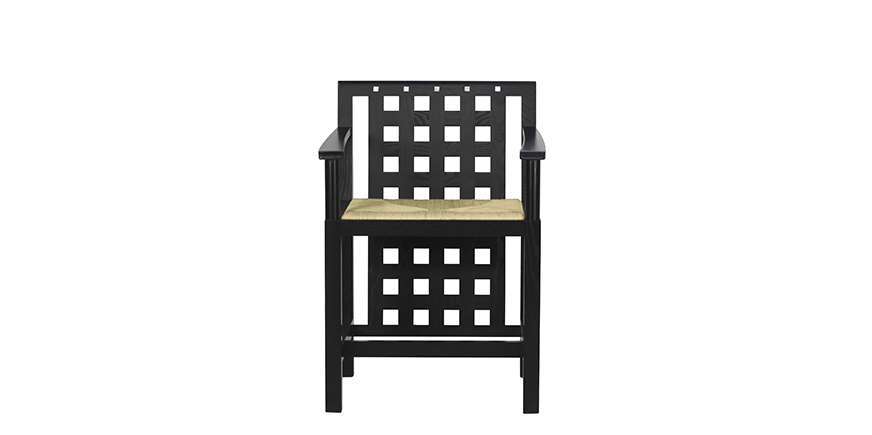 ds4 stuhl von charles rennie mackintosh. Black Bedroom Furniture Sets. Home Design Ideas