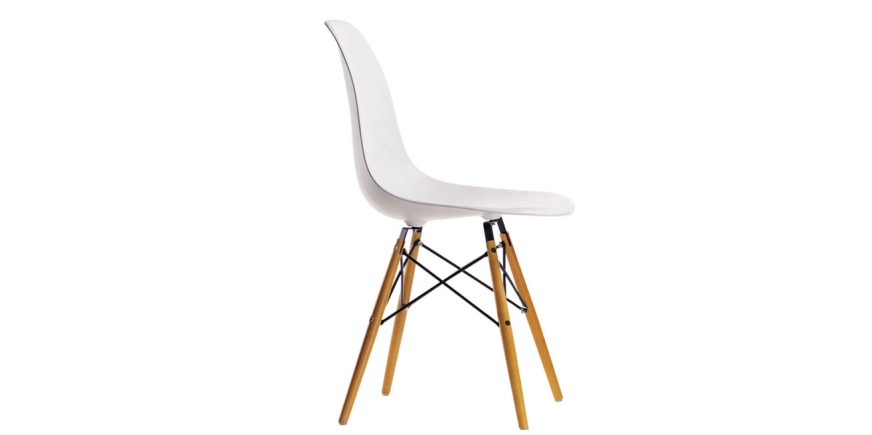 Eames dsw chaise for Galette chaise eames dsw