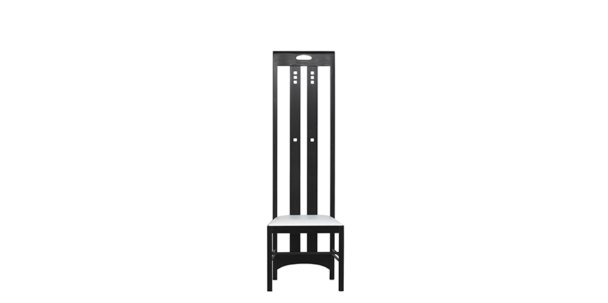 Ingram High Chair - Charles Rennie Mackintosh - 1904