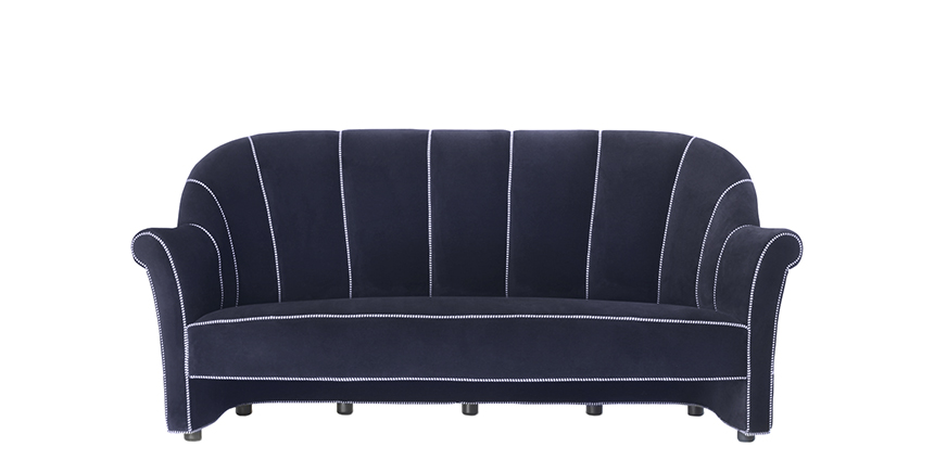 Koller Three Seater Sofa - Joseph Hoffmann - 1912