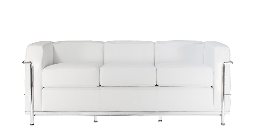 LC2 Three Seater Sofa - Le Corbusier - 1928