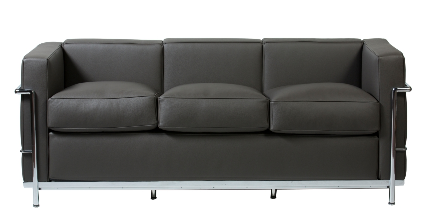 Stockware Sales: LC2 3 sits soffa- Le Corbusier - 1928