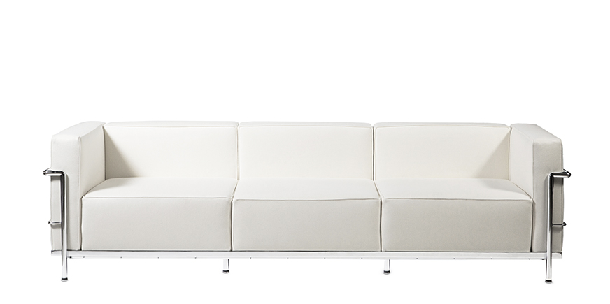 Stockware Sales: LC3 Three Seater Sofa Reproduction - Le Corbusier - 1929