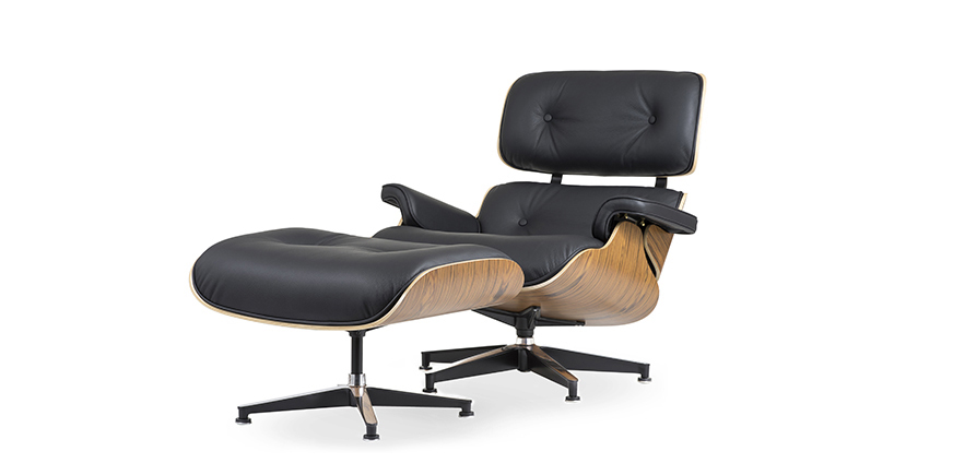 nachbau charles eames lounge chair und ottoman. Black Bedroom Furniture Sets. Home Design Ideas