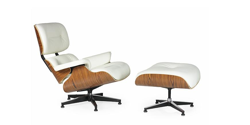 Eames Replica Lounge Stoel.Charles Eames Lounge Chair Xl Replica