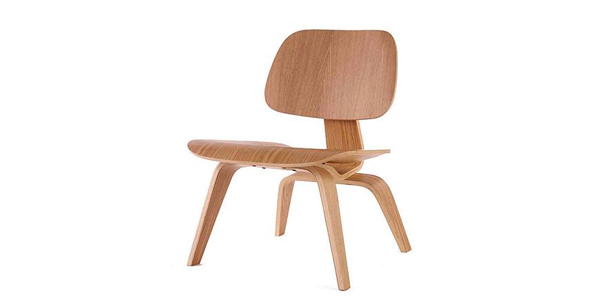 stockware sales lcw chaise de salon en bois par charles eames. Black Bedroom Furniture Sets. Home Design Ideas