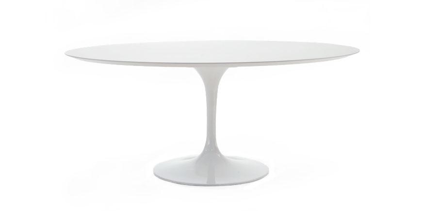 stockware sales ovaler tulip tisch. Black Bedroom Furniture Sets. Home Design Ideas