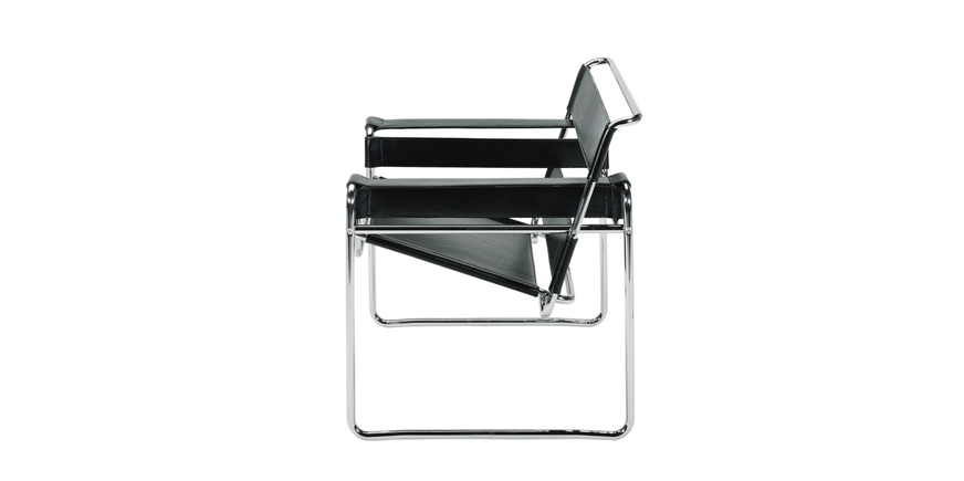 wassily sessel von marcel breuer. Black Bedroom Furniture Sets. Home Design Ideas