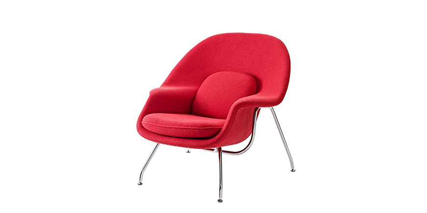 Womb chair sessel saarinen for Barcelona sessel nachbau
