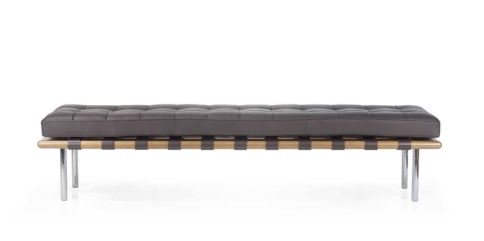 Fabulous Barcelona Bench By Ludwig Mies Van Der Rohe Caraccident5 Cool Chair Designs And Ideas Caraccident5Info