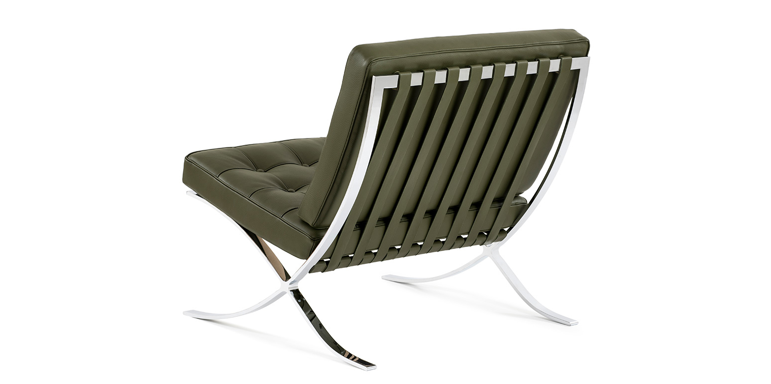 Barcelona Chair Reproduction By Ludwig Mies Van Der Rohe