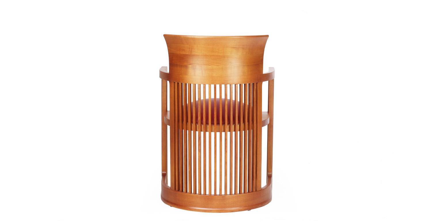 Silla barril por frank lloyd wright - Goma espuma para sillas ...