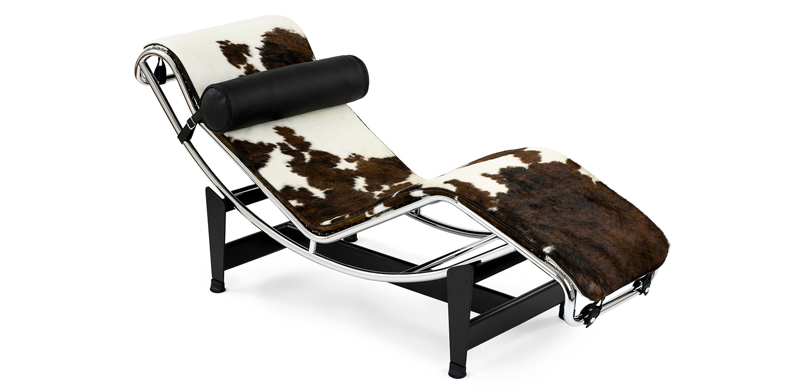 Corbusier lc4 liege reproduktion chaiselongue pony for Corbusier nachbau