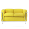 LC2 Two Seater Sofa Reproduction - Le Corbusier - 1928