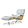 Replica Lounge Chair and Ottoman - Charles Eames - 1956