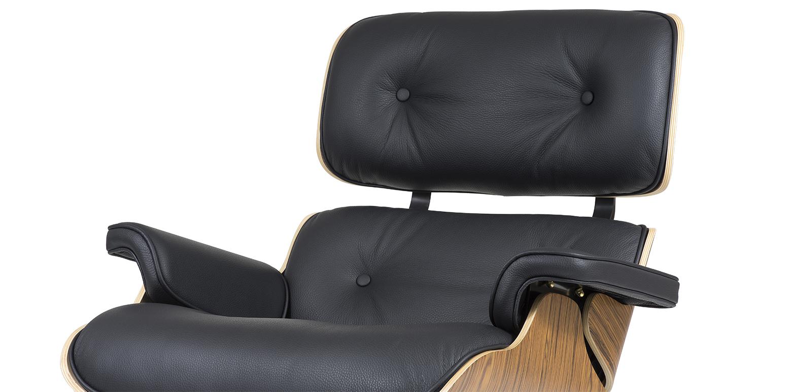 nachbau charles eames lounge chair und ottoman 1956. Black Bedroom Furniture Sets. Home Design Ideas