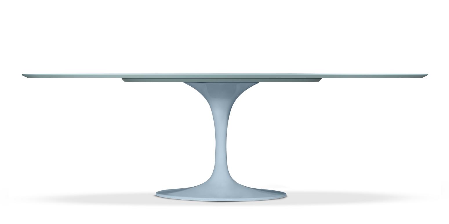 Mesa Tulip Ovalada # Muebles Eero Saarinen