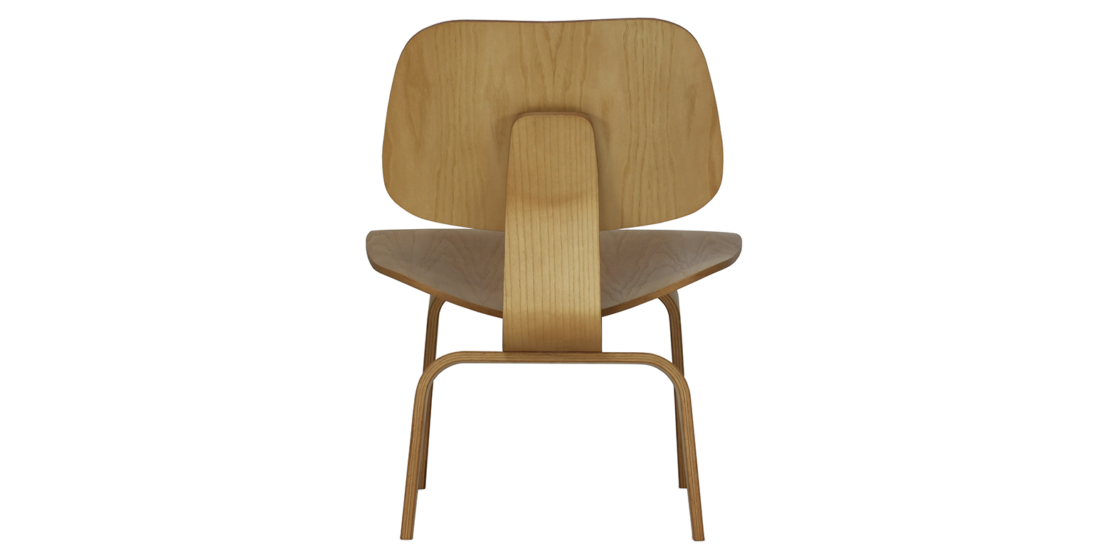 Lcw chaise de salon en bois par charles eames for Chaise de salon