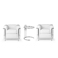 2 x LC2 Armchairs + Adjustable Table - Le Corbusier - 1928