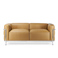 LC3 to personers sofa reproduktion - Le Corbusier - 1929
