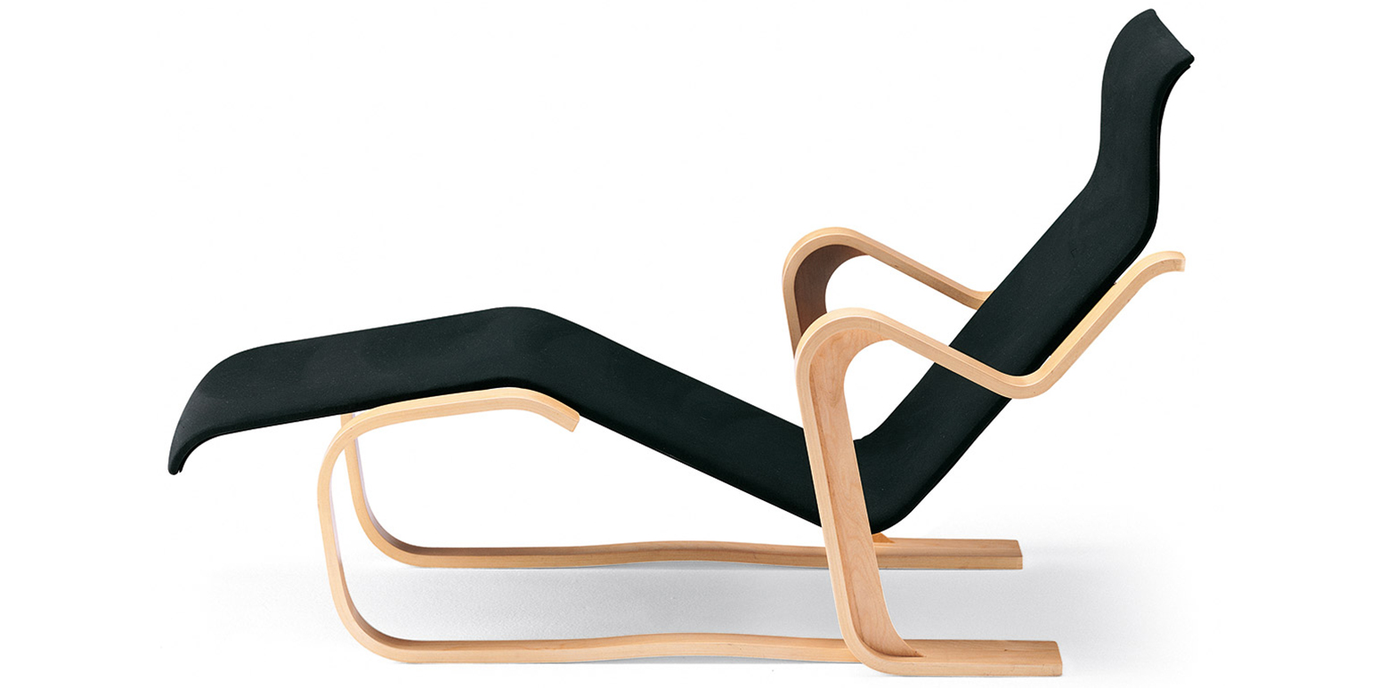 Chaise longue van marcel breuer for Chaise longue legere pliante