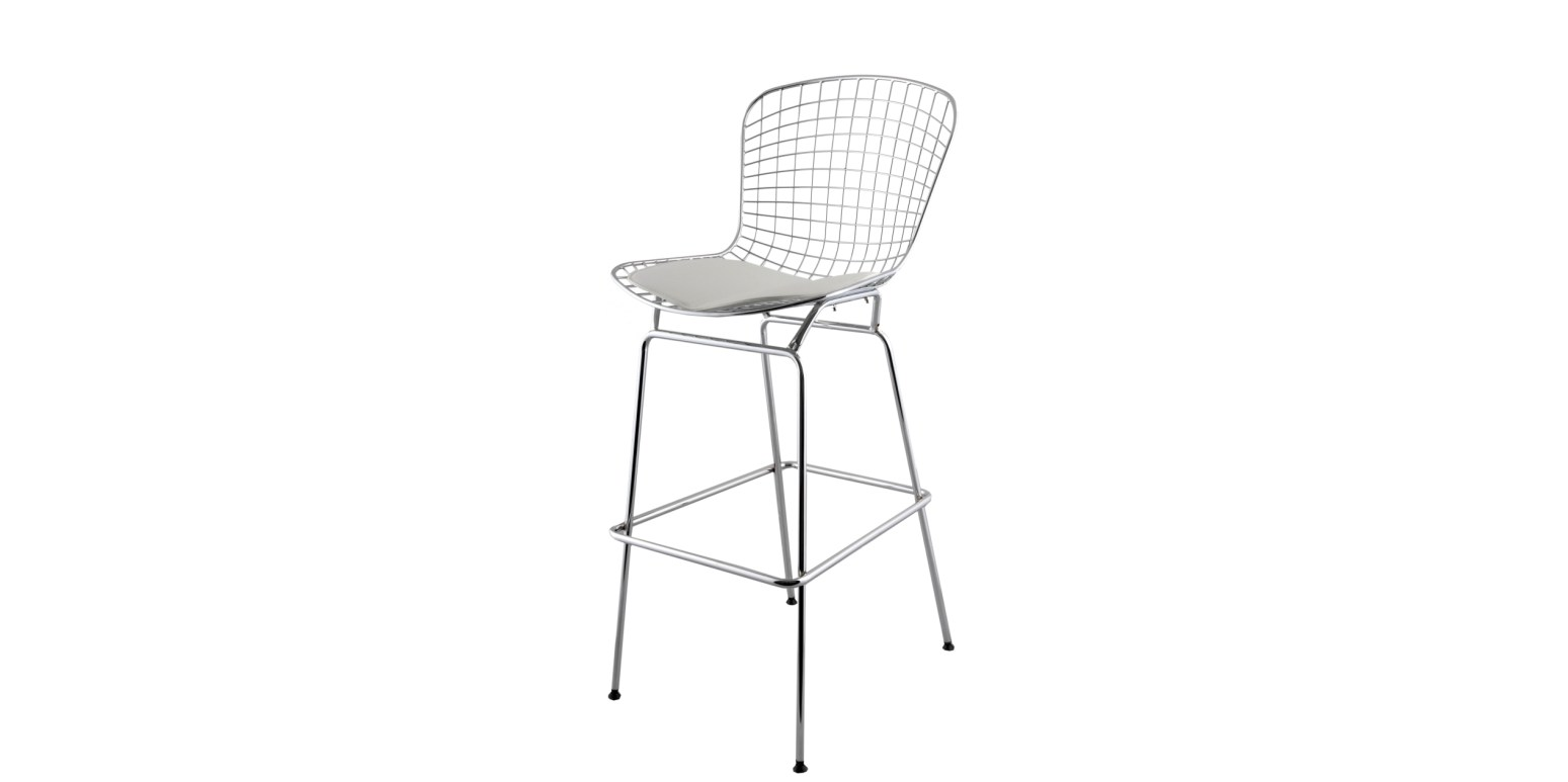 Tabouret de bar par harry bertoia - Tabouret bar bertoia ...