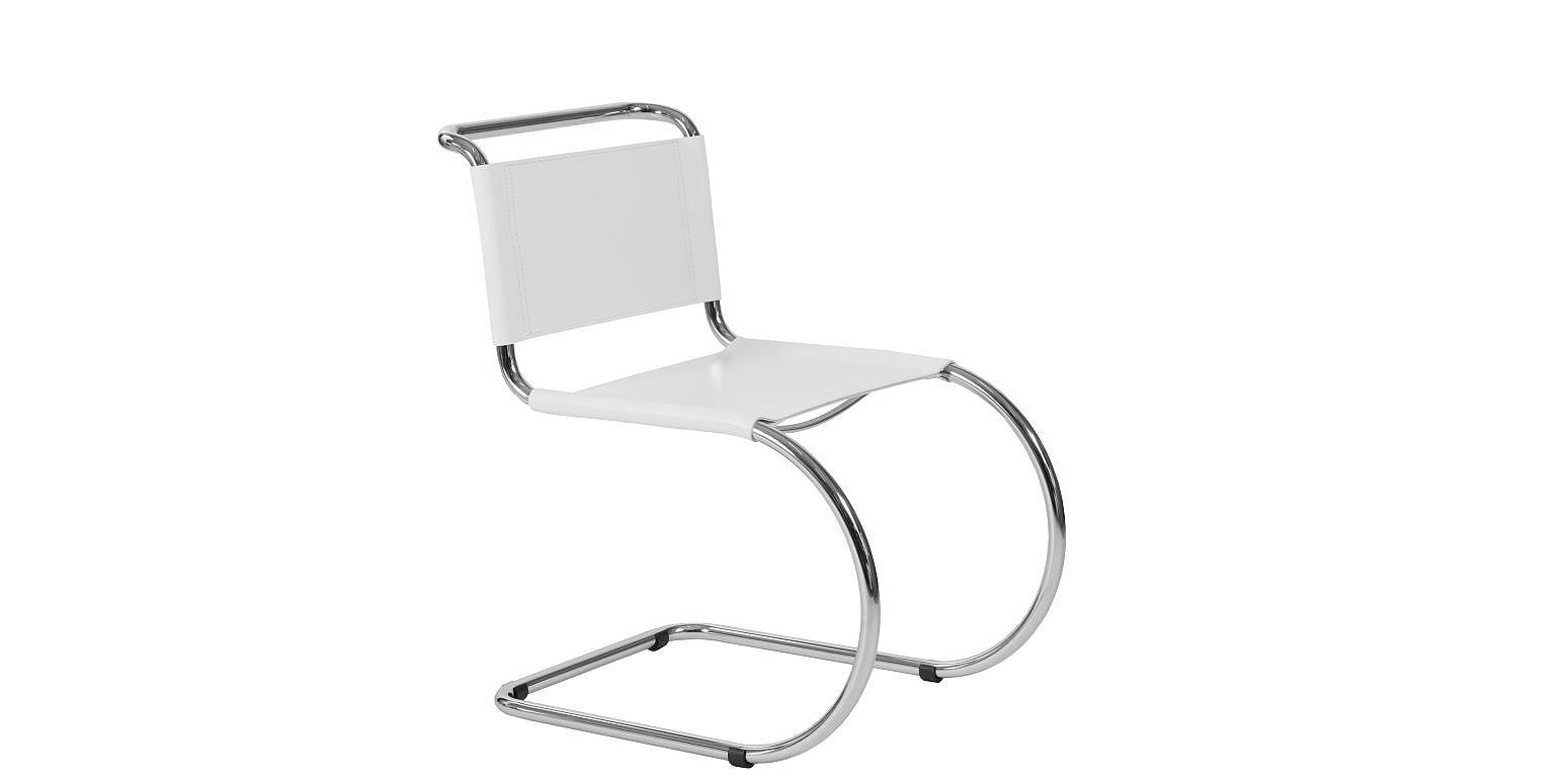 chaise cantilever par ludwig mies van der rohe. Black Bedroom Furniture Sets. Home Design Ideas