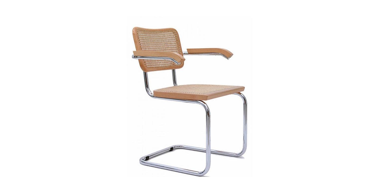 Stockware sales 2 x silla brazos cesca por marcel breuer - Silla marcel breuer ...
