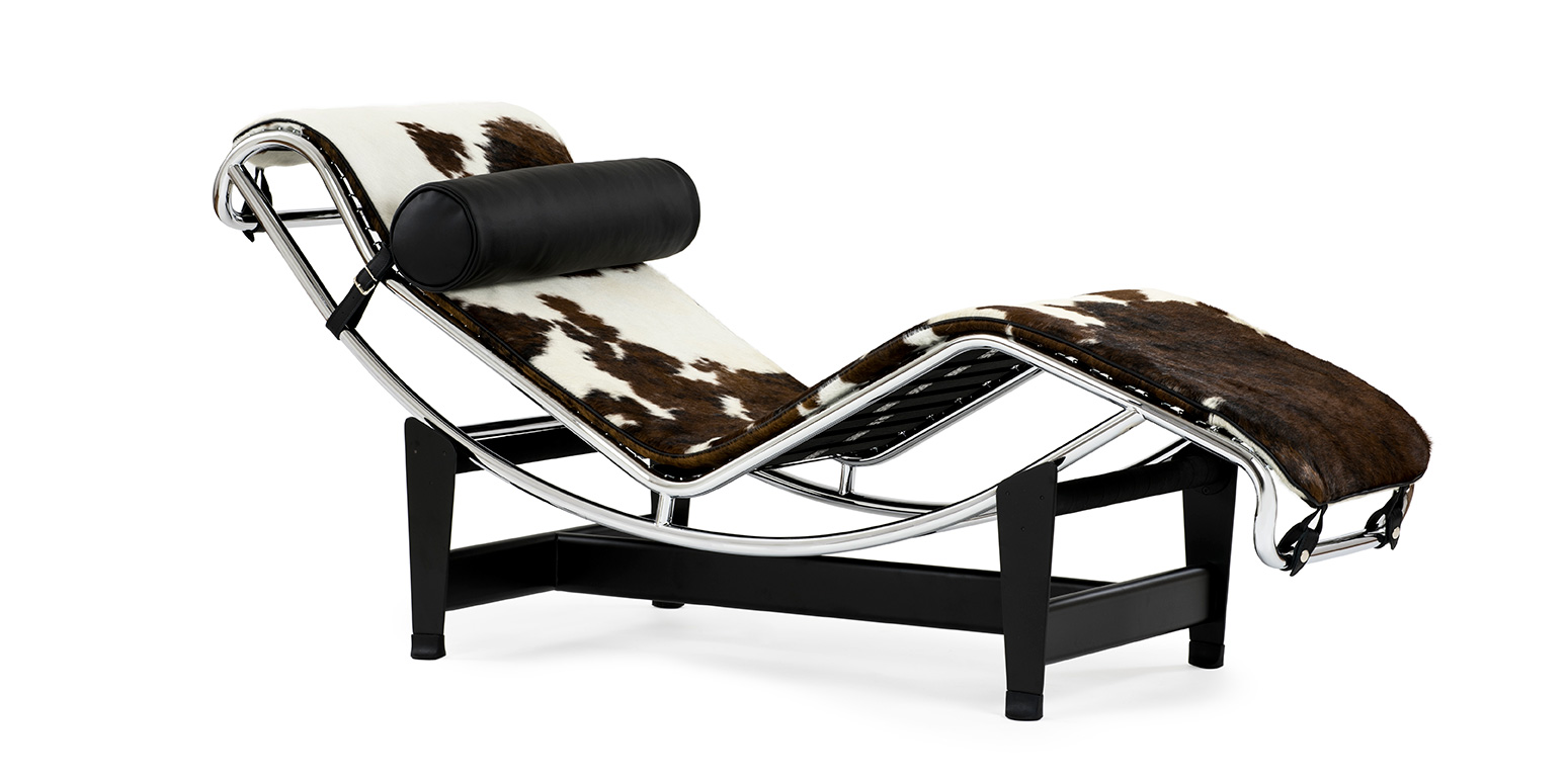 chaise longue lc4 cheval reproduction par le corbusier. Black Bedroom Furniture Sets. Home Design Ideas