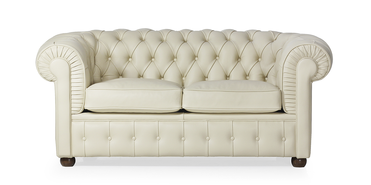 Chesterfield sofa for Zweisitzer sofa