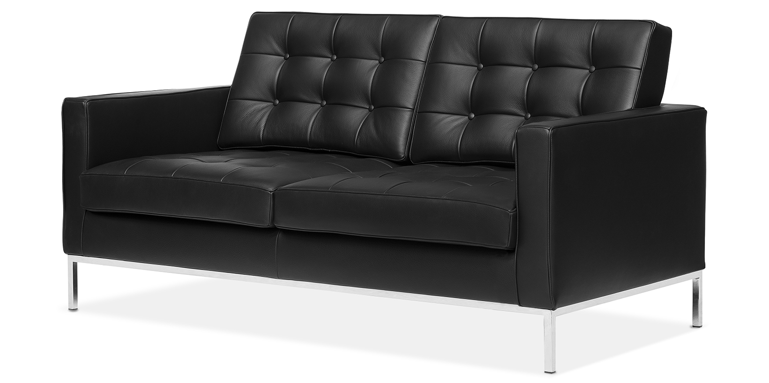 florence knoll soffa florence knoll 2 sits soffa. Black Bedroom Furniture Sets. Home Design Ideas