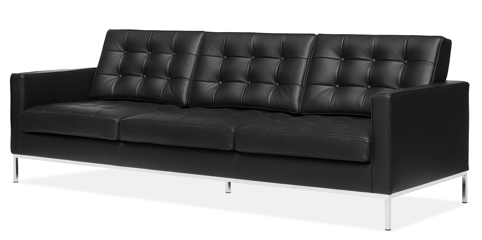 florence knoll sofa florence knoll driepersoonssofa. Black Bedroom Furniture Sets. Home Design Ideas