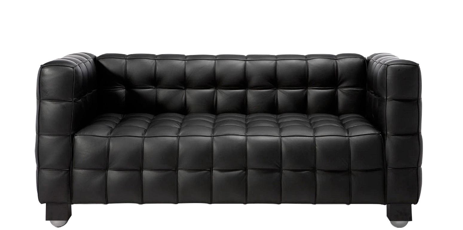 Kubus Two Seater Sofa By Joseph Hoffmann
