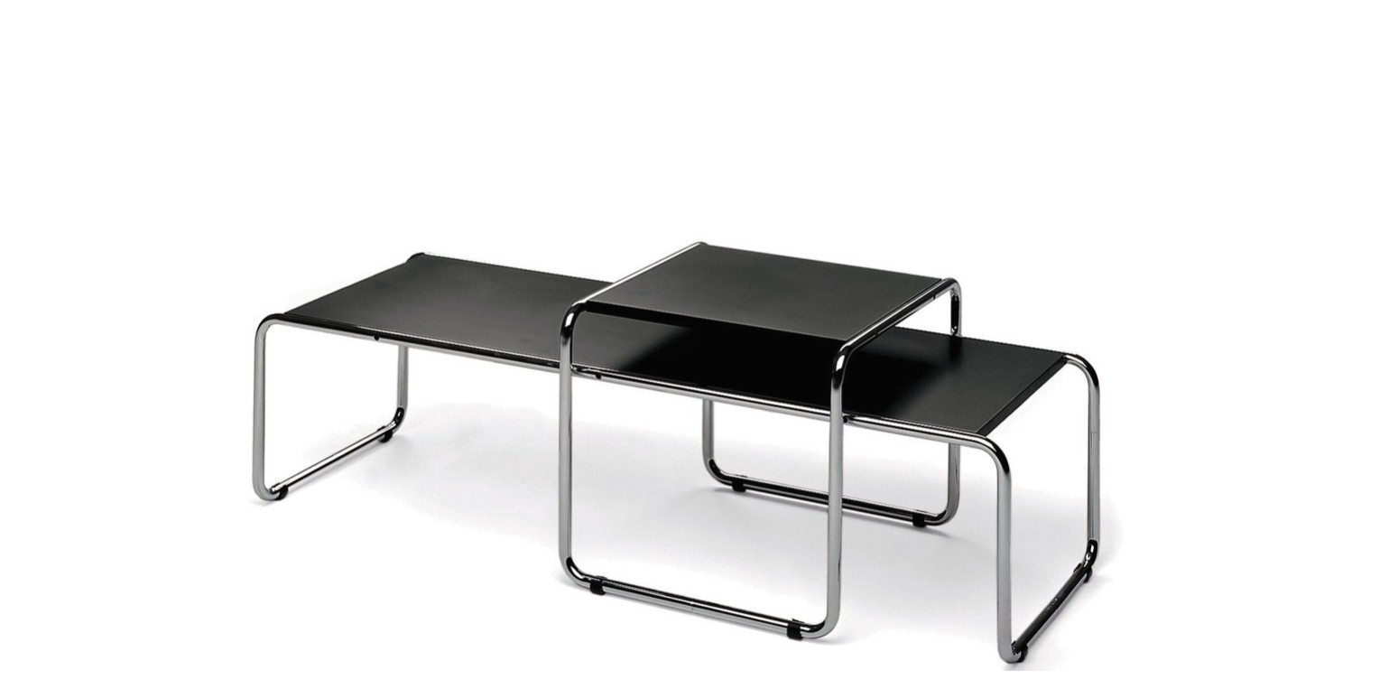 laccio tische von marcel breuer. Black Bedroom Furniture Sets. Home Design Ideas